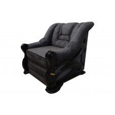 Кресло HERMES dark grey